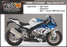 ADESIVI stickers MOTO KIT per BMW S1000RR HP4 SPONSOR RACE KIT S1000 RR