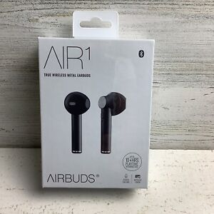 AIR1 True Metal Wireless Earbuds WL14551 New in Factory Box Airbuds