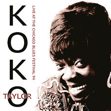 KOKO TAYLOR - Live At The Chicago Blues Festival 94. New CD + Sealed