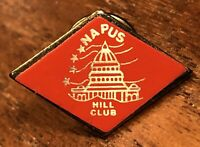 Napus Hill Club National Association Of Postmasters United States Lapel Hat Pin