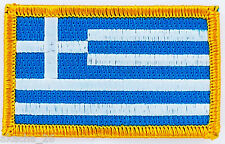 PATCH ECUSSON BRODE DRAPEAU GRECE INSIGNE THERMOCOLLANT NEUF FLAG PATCHE