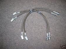 Stainless Steel brake lines-DOT apvd for Corvette 84-87