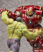 HULKBUSTER IRON MAN VS HULK Age of Ultron ArtFX+ Set of 2 Avengers US SELLER