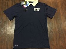 Nike Men's Pittsburgh Panthers College Football Jersey Polo Shirt Small S Pitt