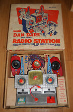 Vintage Merit Dan Dare Space Control Radio Station 1950's Boxed Rare Toy Set 403
