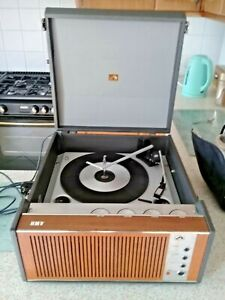 1967 hmv record player 2030 model working great sound sold as seen