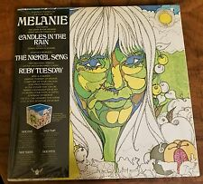 MELANIE-PORTRAIT OF-SEALED-DOUBLE-LP-TRIFOLD-BUDDAH-BDS 95005-AWESOME-MINT-c1971
