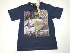 Cavalli Kids Boys New DEVILS LOGO SPACESHIP PRINT T-SHIRT Sz: 6 RTL: $129 Q545