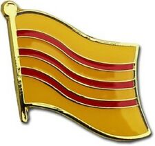 Wholesale Pack of 12 South Vietnam Country Flag Bike Hat Cap lapel Pin
