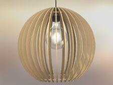 Lampadario rustico moderno in legno soffitto sospensione - Design Forma Sfera