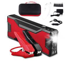 12V 18000mAh LED Auto Jump Starter Ladegerät Power Bank Booster Starthilfe SOS
