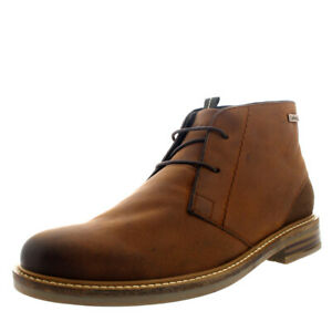 Mens Barbour Redhead Office Shoes Chukka Leather Smart Ankle Boots US 6.5-12.5