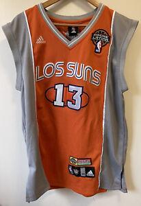 Adidas Los Suns Phoenix Latin Nights Steve Nash 13 Jersey | Size XL 50 | Orange