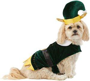 Brand NEW Merry & Bright Holiday Christmas Xmas Elf Pet Costume