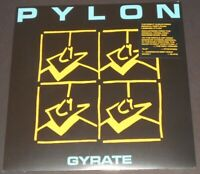PYLON gyrate USA LP new sealed REMASTERED REISSUE black vinyl METHOD ACTORS