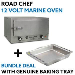 Road Chef 12 VOLT 4X4 Marine Oven + Genuine Baking Tray ROAD-CHEF-BUNDLE