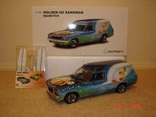 1:18 Biante Holden HZ Sandman Van Seawitch 1977 with Surfer Murals & Surfboards