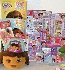 NEW DORA EASTER toy GIFT BASKET plush BIRTHDAY playset art GAME PLUSH gift set