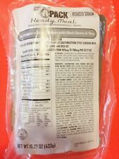 Qty 2 A-Pack Ready Meal Mre Meals Ready To Eat Emergency Food Supply L6