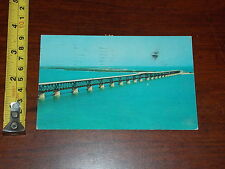 POSTCARD OLD BAHIA HONDA HIGHEST SPAN HIGHWAY SYSTEM KEY WEST FLORIDA