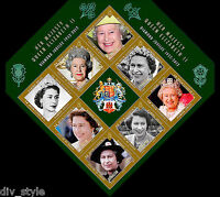 Diamond Jubilee Her Majesty Queen Elizabeth II souvenir sheet Gibraltar 2012