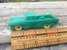 Vintage Auburn Rubber El Camino Green & Yellow, Ohio , Toy