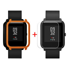 PC Case Cover Shell For Huami Amazfit Bip Youth Watch With Screen Protector Lot