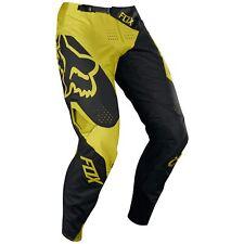 Fox Clothing 360 PREME Motocross / MX Pants Dark Yellow - Size 34 19417-547-34