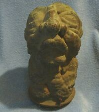 Unique Antique 19th Century Heavy Bronze Ugly Gnome Or Troll Possibly A Mold ?