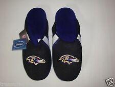 NFL Baltimore Ravens Team Jersey Indoor/Outdoor Slippers ~ Size Large (11-12)