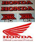 LICENSED 1979 HONDA XR80 Tank & side panel sticker decal kit Vintage Mini XR 80