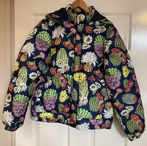 🌈Gorman Cactus Flower Down Puffer Jacket, BNWOT, Size 10 (B54cm L65cm) $199🌈