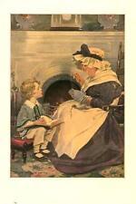 David Copperfield and Peggotty  -  Jessie Willcox Smith -   Vintage Print