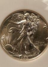 1945 Walking Liberty Half - Beautiful Uncirculated Coin