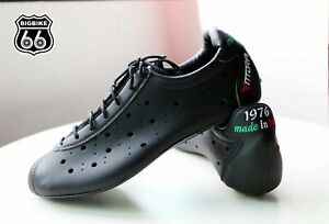 VITTORIA 1976 EVO Cycling Bike Shoes (Color: Black, Size: 39.5)