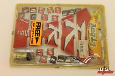 NEW MOTRAX MOTORCYCLE RRRSS RED TANK PROTECTOR WITH EAR PLUGS PART# TPRR