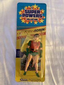 Kenner Super Powers Robin Figure Small Card Slim. Misp VHTF BATMAN look