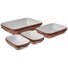 NEW IN BOX Lagostina Ceramic Bakeware Set 4 pc