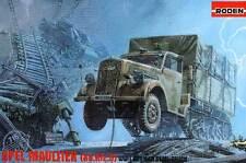 Roden OPEL BLITZ sd.kfz.3 CATENA mezza bocca animale camion modello-KIT 1:72 NUOVO OVP KIT
