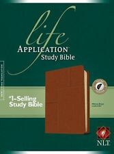 NLT Life Application Study Bible (Midtown Brown LeatherLike)