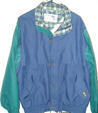 Mens Vintage Tourney Mens Gore Tex Windproof Waterproof Golf Jacket. Size Large