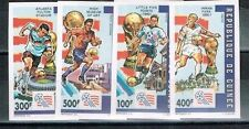 Guinean Sports Postal Stamps