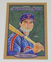 1993 Donruss Masters of the Game Jumbo Jose Canseco #7 MLB Texas Rangers Card