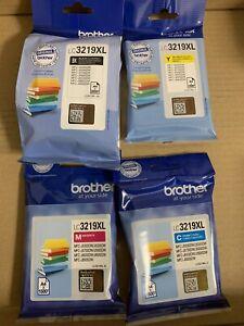 Genuine Original Brother LC3219XL C/M/Y/BK Printer Ink Cartridges 2022 /23