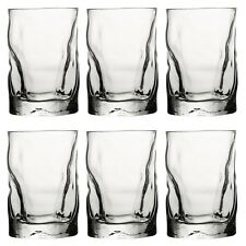 6 x Bormioli Rocco  30cl Whiskey Dinner Glasses Tumblers Drinking Cups Clear