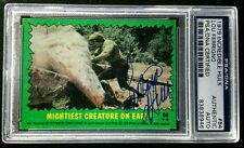 Lou Ferrigno Incredible Hulk 1979 2001 Topps AUTO Buyback Signed Autograph PSA