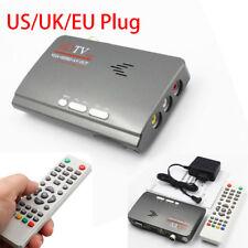 VGA/AV Tuner For LCD/CRT Monitors HDMI DVB-T DVB-T2 TV Box Satellite Receiver
