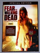 FEAR the WALKING DEAD Season 1 Special 2-Disc DVD Edition NEW! Cool 3-D Cover!