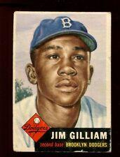 1953 TOPPS JIM GILLIAM #258 (400.00)  VGEX  UT8407