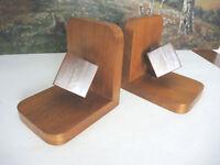 Buchstützen Holz Frankreich Würfel Bauhaus Art Deco...!!!